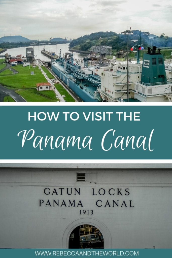 The Panama Canal is one of the world's greatest engineering feats. Far from being a boring tourist attraction, it's an incredible sight to see a huge ship passing through. This guide shares how to visit the locks and the best way to the Panama Canal! #panama #centralamerica #panamacity #panamacanal #touristattractions #greatwondersoftheworld