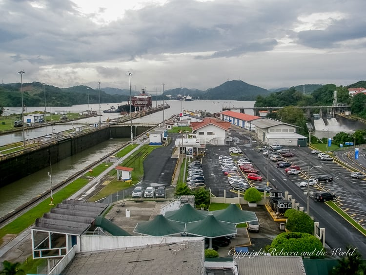 The Miraflores Locks is the closest way to visit the Panama Canal from Panama City