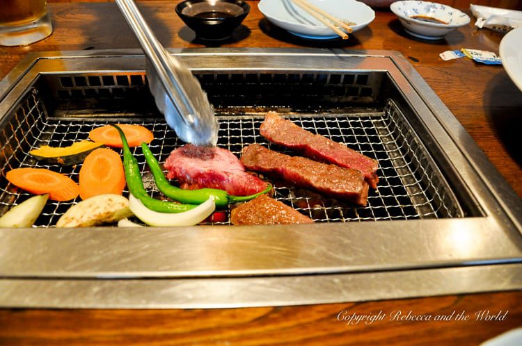 Hida beef in Japan | Is this the best beef in Japan? Hida beef is a specialty of Takayama and is a must-try when in central Japan. Here's how to eat it and where to eat it in Takayama. #beef #hida #takayama #japan #foodietravels #japanesefood #visitjapan