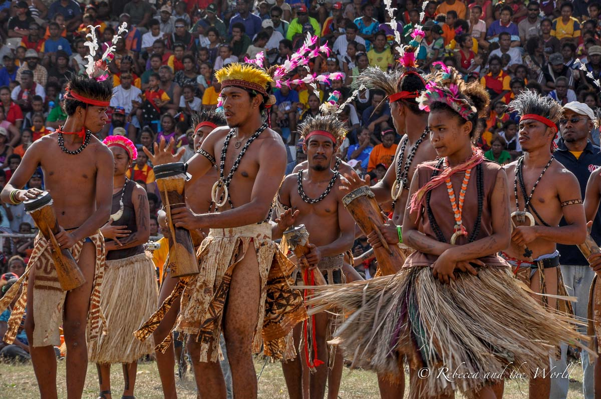 The Hiri Moale is in Port Moresby, so it's one of the easiest festivals in PNG to visit