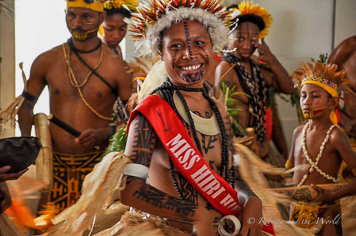 The Hiri Moale festival ends with the crowning of the Hiri Queen in Papua New Guinea