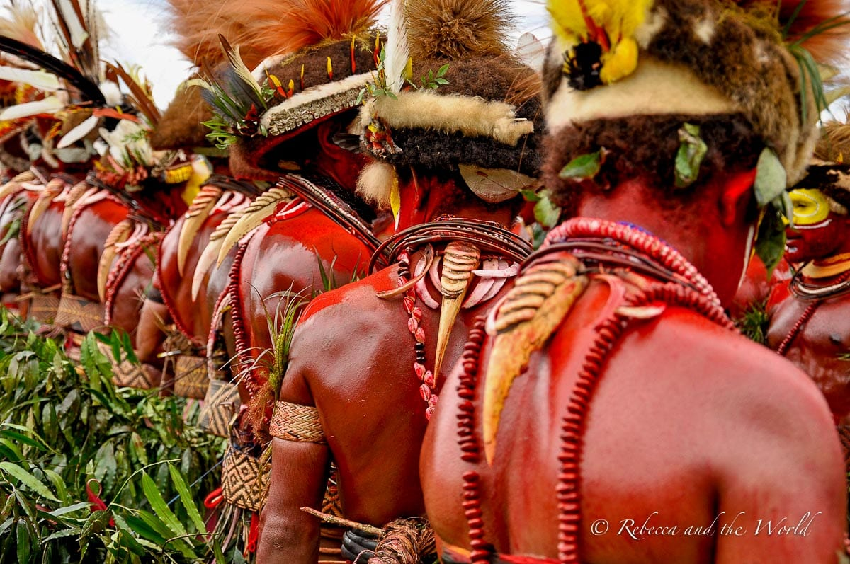The festivals in Papua New Guinea are mind-blowing, with costumes and decorations you've never seen before