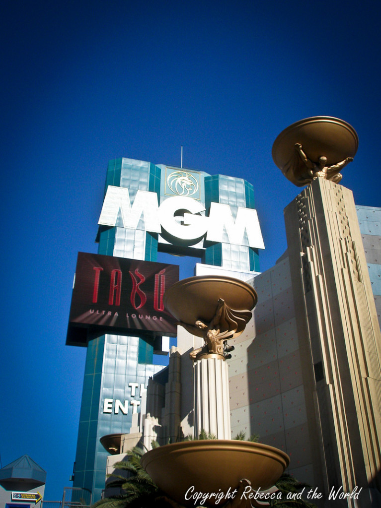 MGM Grand - our luxurious accommodation