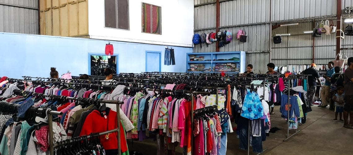 5e2632deea6 Shopping for second hand clothing in Port Moresby