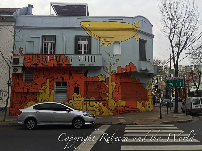 Graffiti in Buenos Aires - courtesy of Matt Trigwell