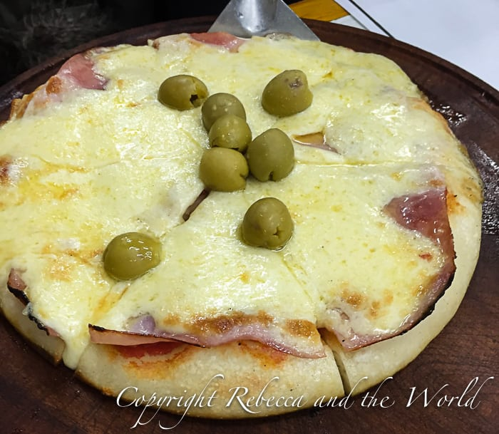 Pizza in Argentina - cheesy, just the way it should be