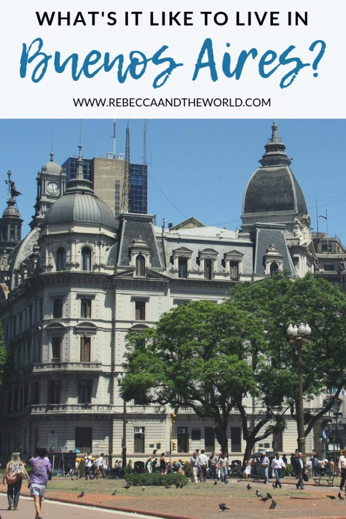 Planning to visit Buenos Aires? To help get you prepared for your trip, here are my first impressions of living in Buenos Aires - the good and the bad.   #argentina #buenosaires #expatlife #expat #expatliving #travel #visitbuenosaires