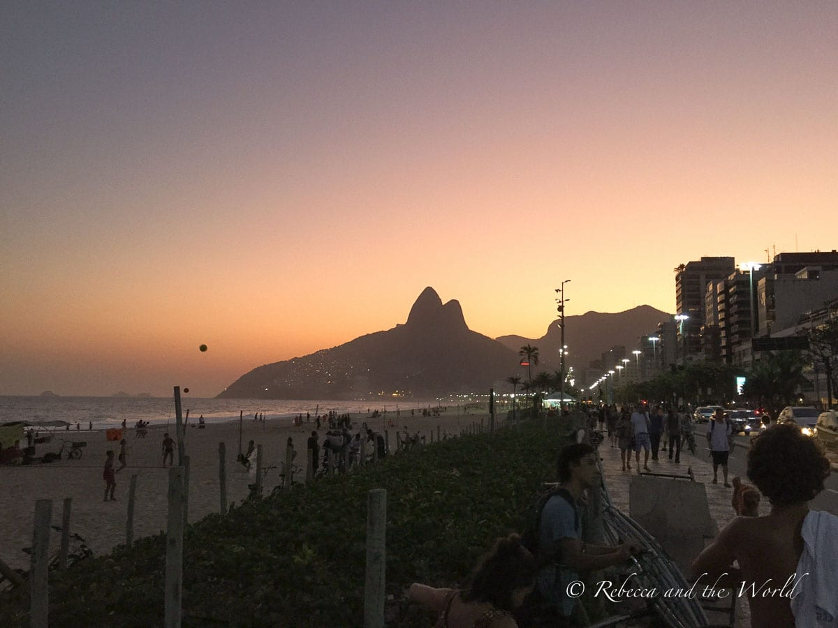 One of the top things to do in Rio de Janeiro is to visit the beaches, and Ipanema is the best one