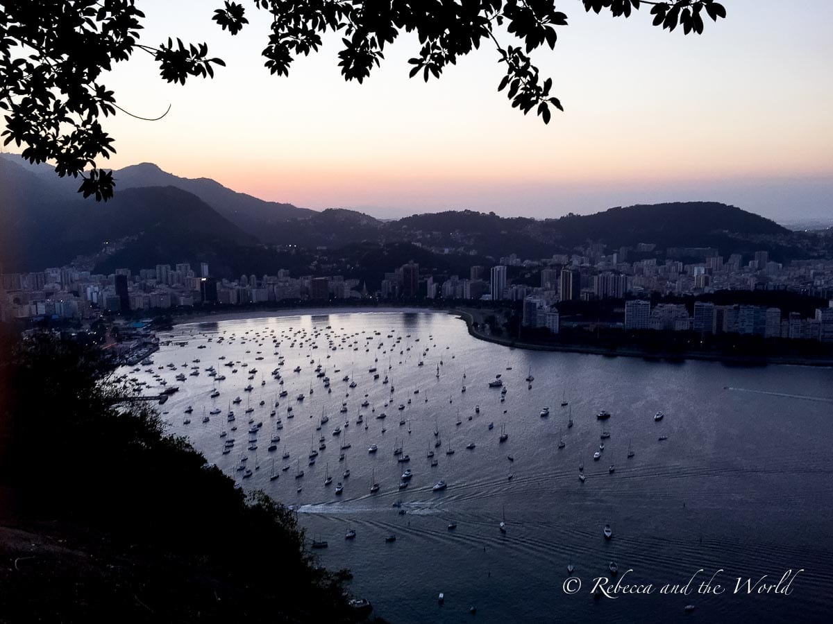 The views from Sugarloaf Mountain in Rio de Janeiro are some of the best in the city