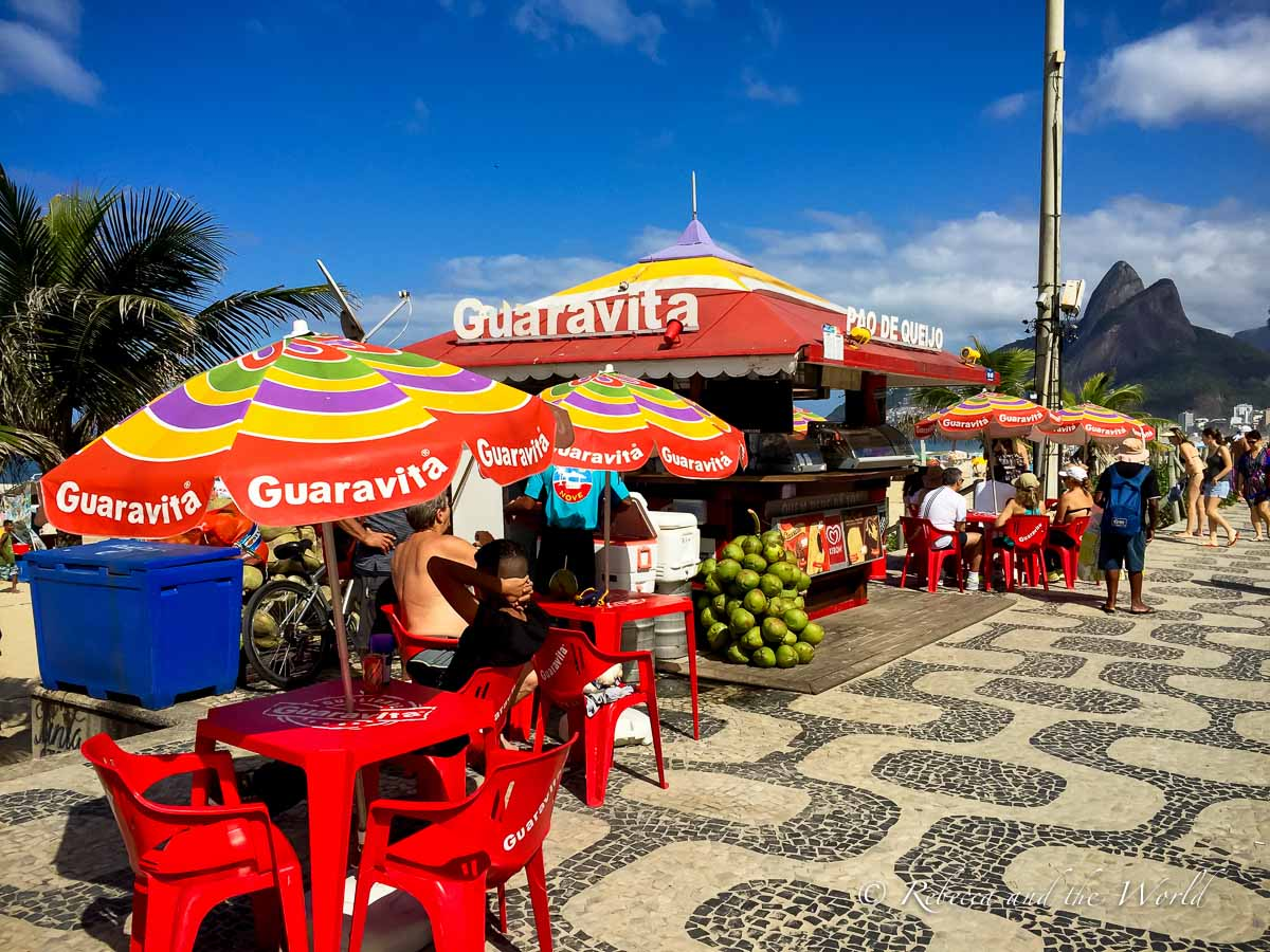 Copacabana is one of Rio de Janeiro's most famous beaches - and a Rio must-visit