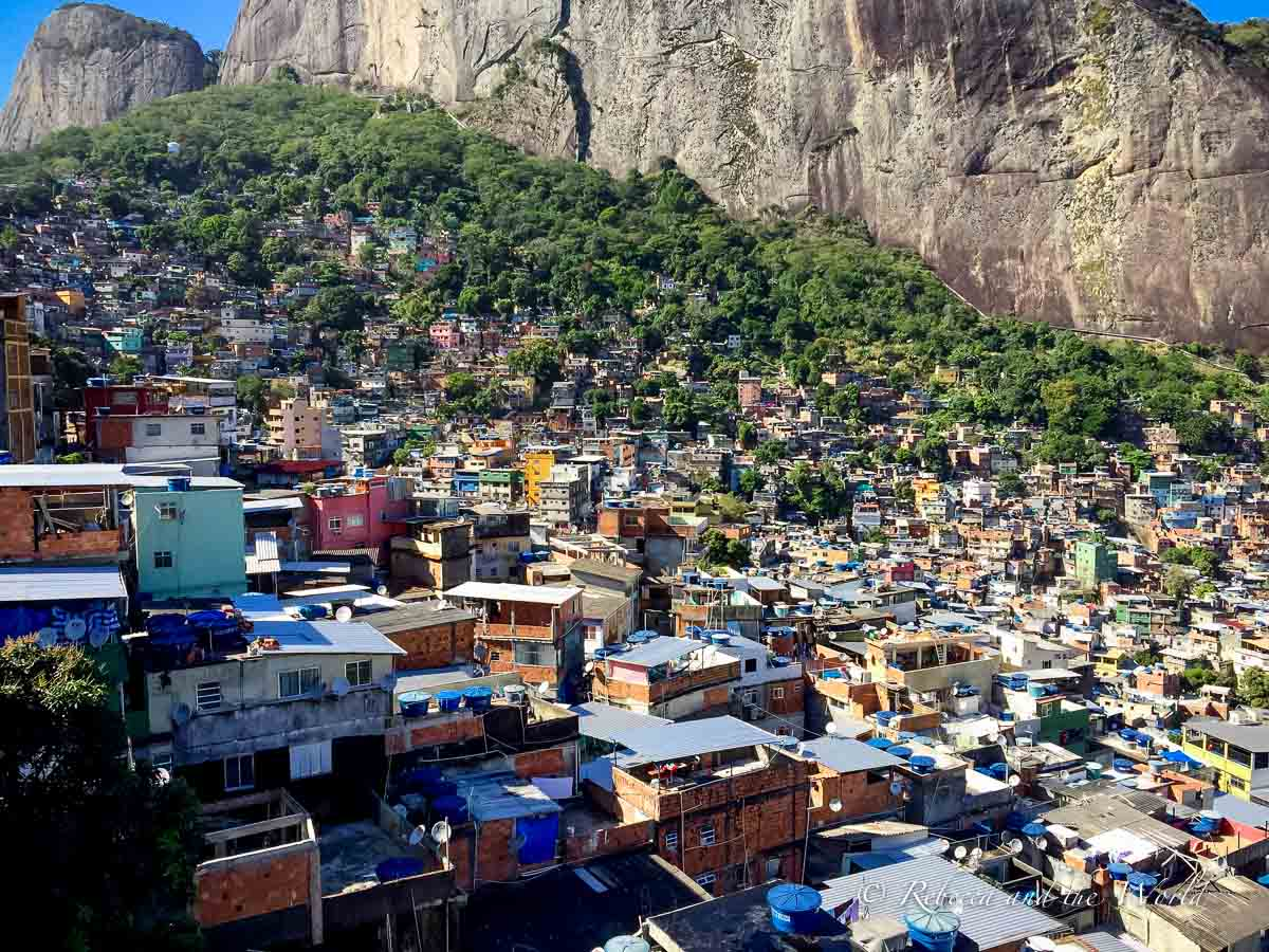 Taking a favela tour in Rio de Janeiro is a popular thing to do - but it's not for everyone, so think about whether you want to include this in your 3 days in Rio de Janeiro itinerary
