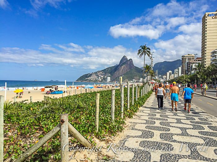 Ipanema - only sunshine to be seen