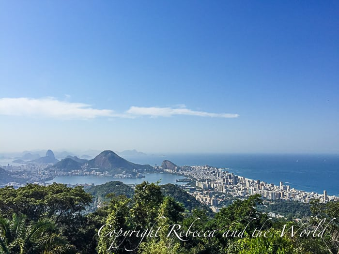Views of Rio from Parque Nacional da Tijuca