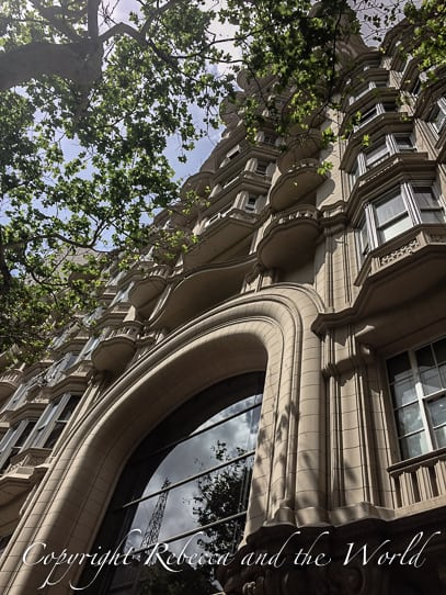 One of Buenos Aires' hidden secrets is Palacio Barolo - a gorgeous building inspired by Dante's Divine Comedy. Join one of the Palacio Barolo tours to get a sneak peek inside this unique building. | #buenosaires #argentina #buenosairestours #palaciobarolo #palaciobarolobuenosaires #palaciobarolointeriors #travel #travelguide #buenosairestravel