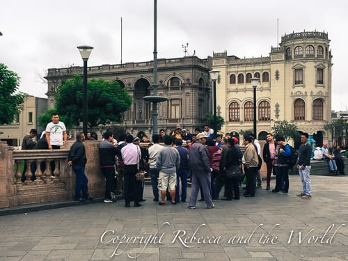 Lima city walking tour
