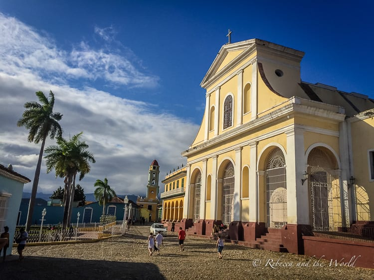 Trinidad in Cuba is known for its beautifully preserved historic buildings and white-sand beaches. Read on for what to expect when you visit Trinidad - this charming city is quite noisy! | #cuba #trinidad #cubatravel #travel #travelguide #caribbean