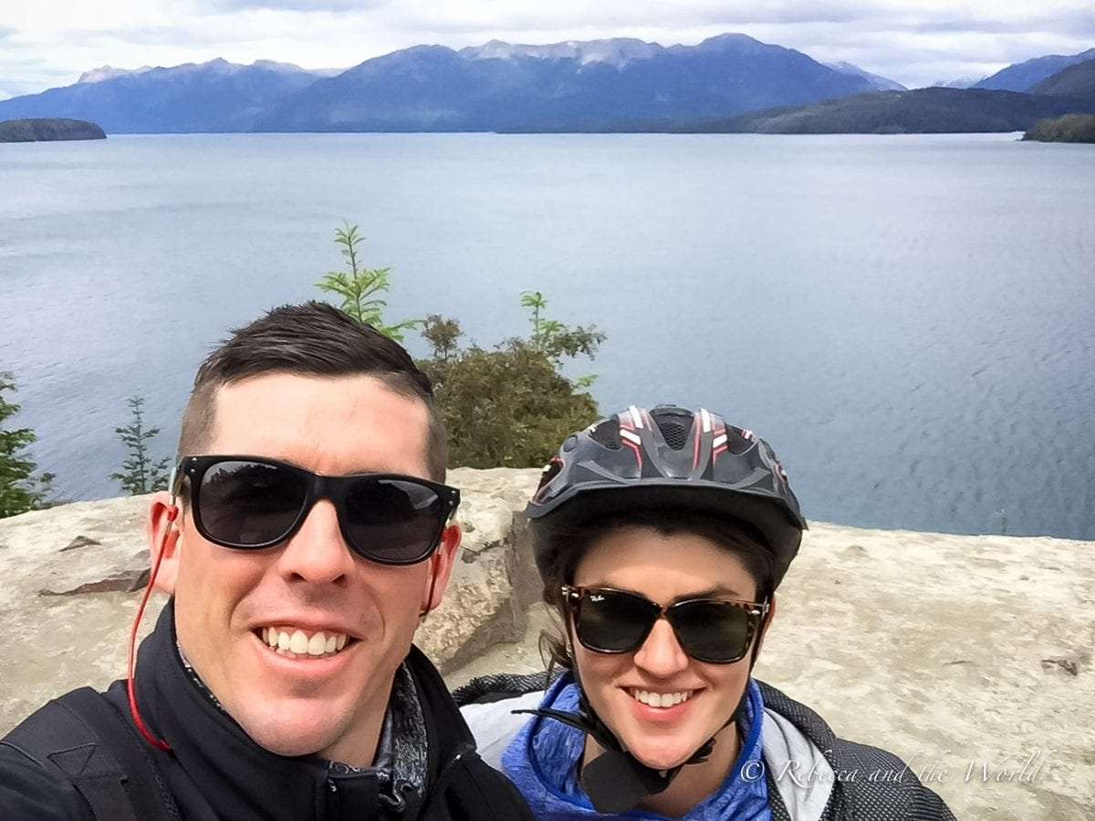Try biking the Ruta de los Siete Lagos route over 3 days - it's a great adventure to have in Argentina!