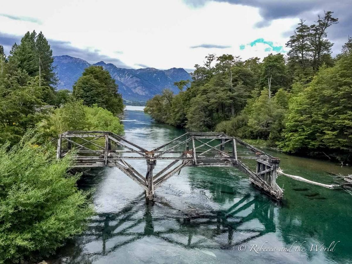 There are more than a dozen lakes along the Ruta de los Siete Lagos in Argentina, along with picturesque rivers and streams