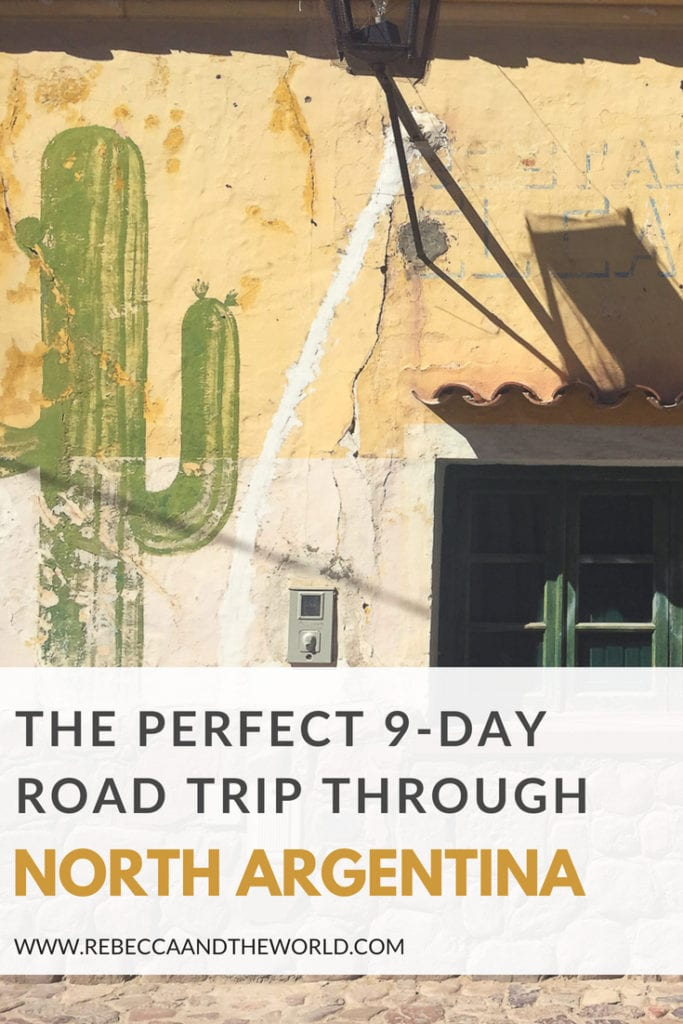 Planning to visit north Argentina? This 9-day road trip itinerary will guide you through the perfect route to see the highlights of this beautiful region. Includes which towns in north Argentina to visit, what to see and do, where to eat and where to stay. #argentina #northargentina #salta #jujuy #roadtrip #itinerary #argentinaitinerary #travel #roadtripideas
