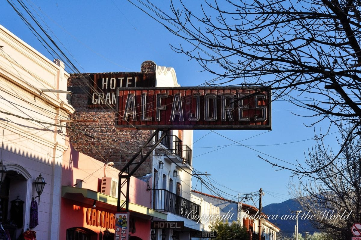 Stop in Cafayate in northern Argentina for the wine, alfajores, empanadas and wine-flavoured ice cream