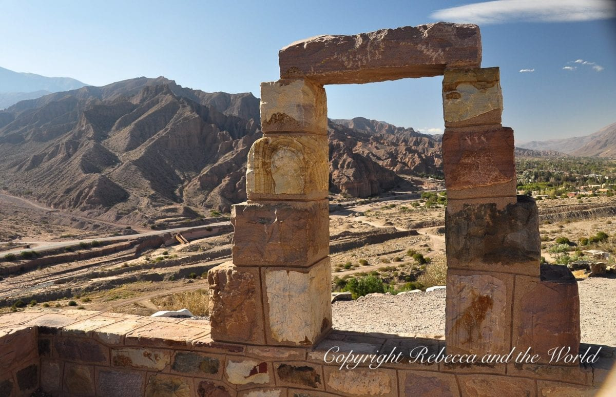 In Tilcara in the north of Argentina, visit the pre-Incan fort of Pucara