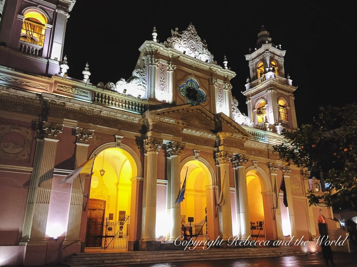 The city of Salta is known as Salta La Linda for its beautiful plazas and churches. Exploring these areas is one of the best things to do in Salta