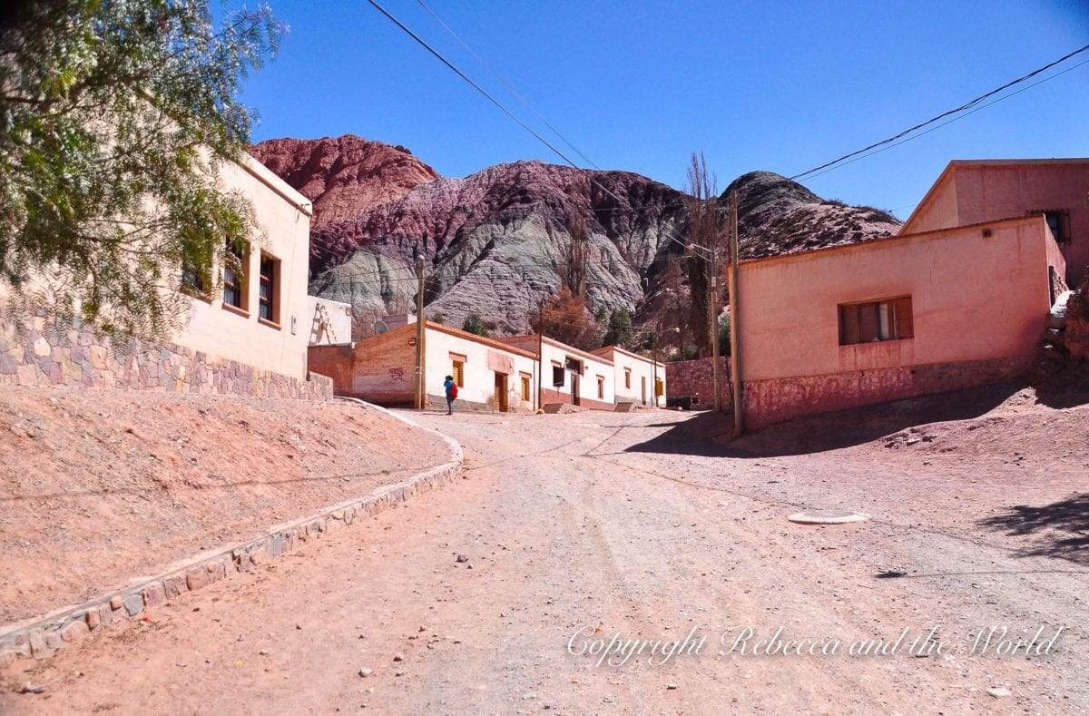 Purmamarca is a lovely little town in northwest Argentina