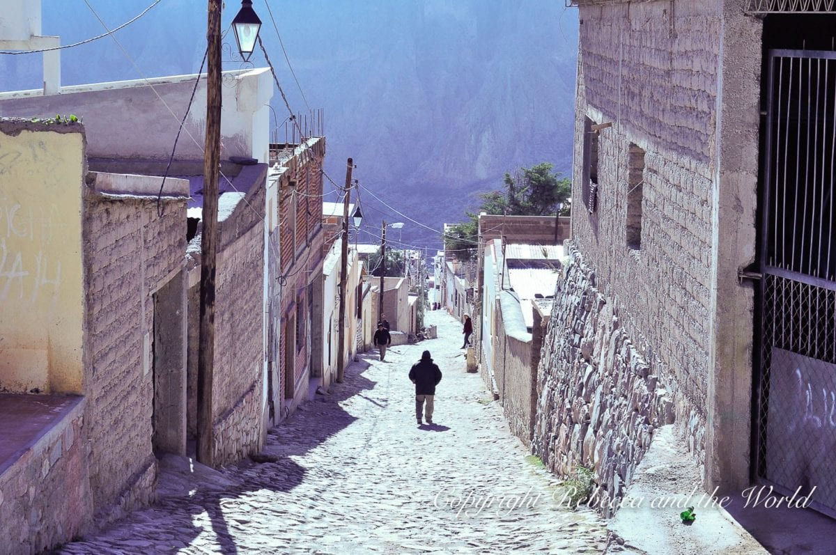 The town of Iruya is located on a cloud-shrouded mountain top in north Argentina