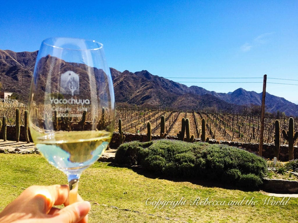 Cafayate is Argentina's best-kept wine secret. Home of the delicious Torrontes wine, you can spend a few days exploring Cafayate's wineries by bike or car. | #argentina #cafayate #salta #northargentina #wine #argentinewine #argentinawineries #torrontes