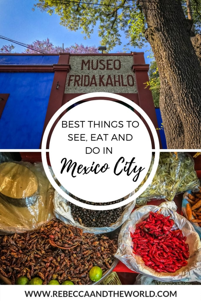 Mexico City is full of things to do - spend a weekend there and you won't have time to do everything. This guide walks you through the 15 best things to see, do and eat when in Mexico City. | #mexicocity #mexico #weekendguide #foodie #foodietravels #thingstodoinmexicocity