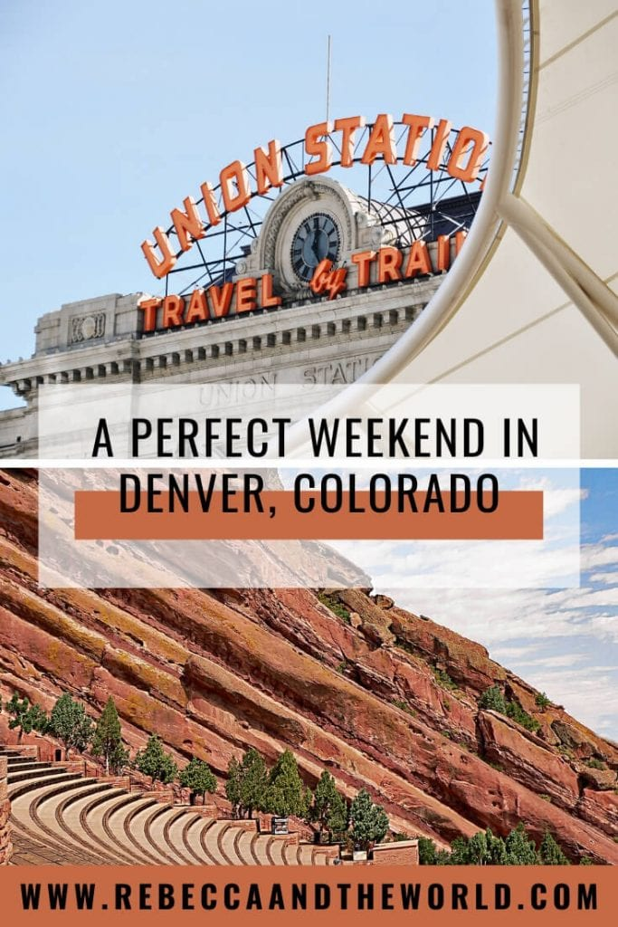 Planning to spend a weekend in Denver in winter? There's actually plenty to do! Check out this 3 days in Denver guide to find out what to do, where to eat and where to stay. | #denver #colorado #usa #usatravel #travelguide #weekendtrips #weekendtravel #wintertravel