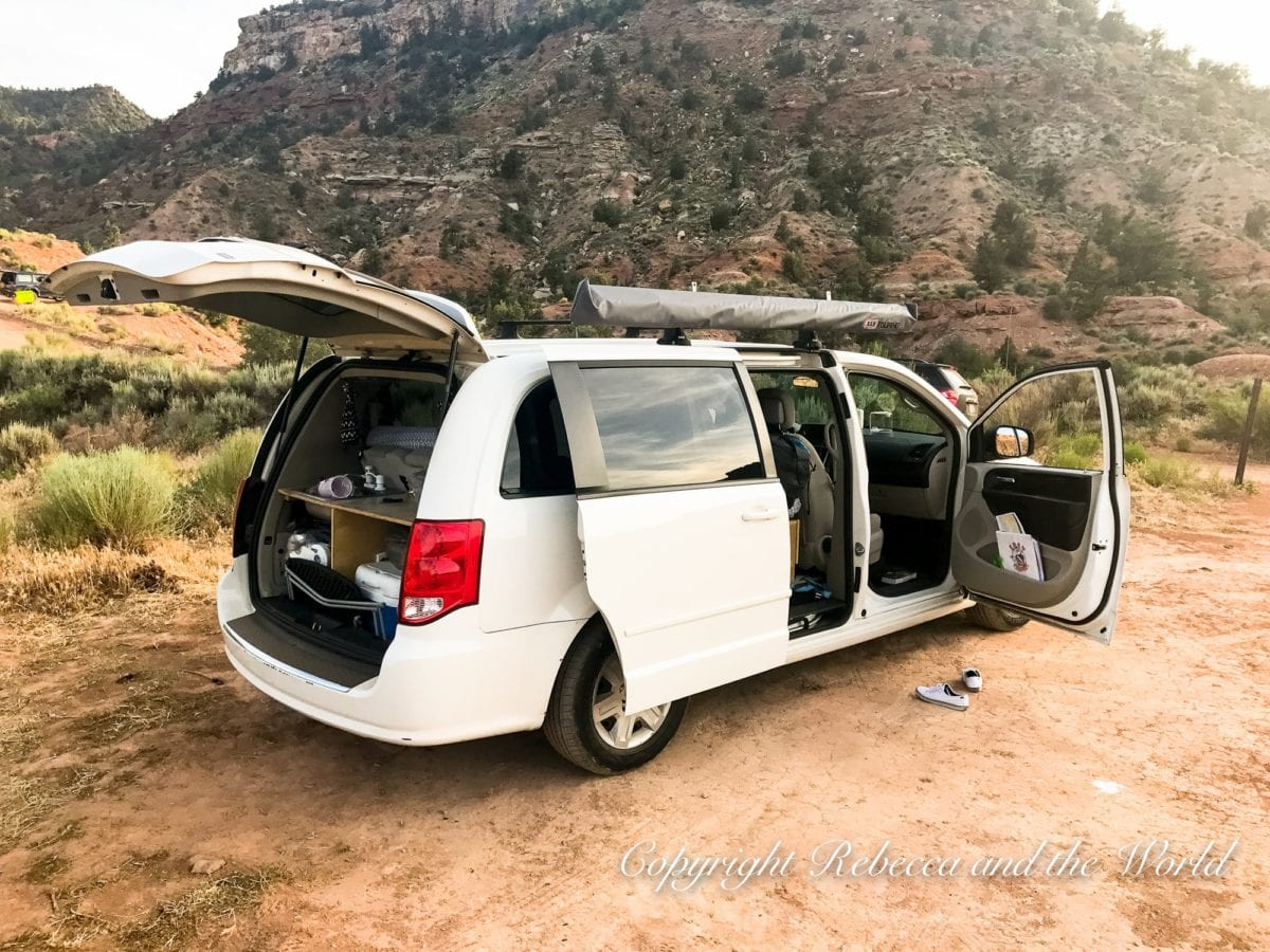 We did our Utah national parks road trip in a campervan which combined our transport and accommodation in one!