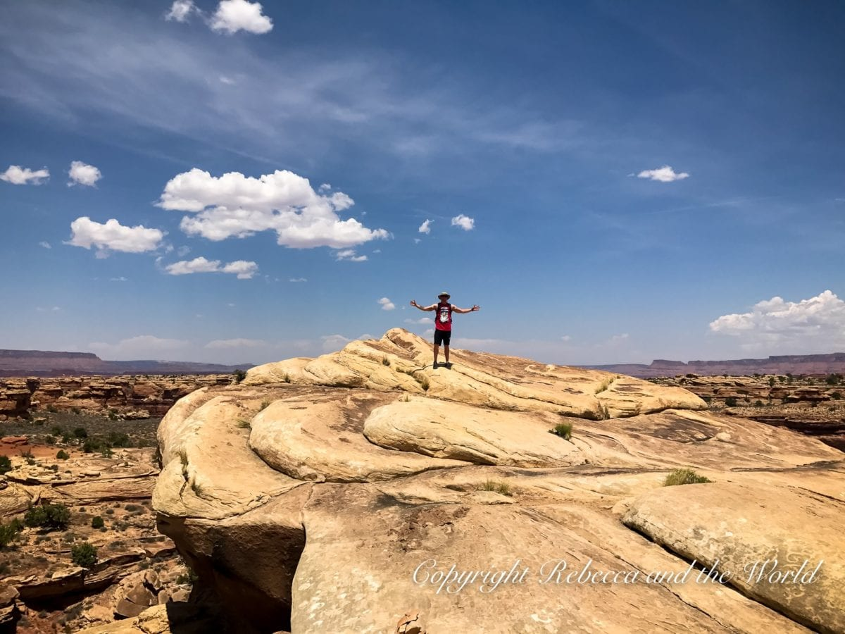 One of the best Utah national parks to get off the grid is The Needles section of Canyonlands National Park