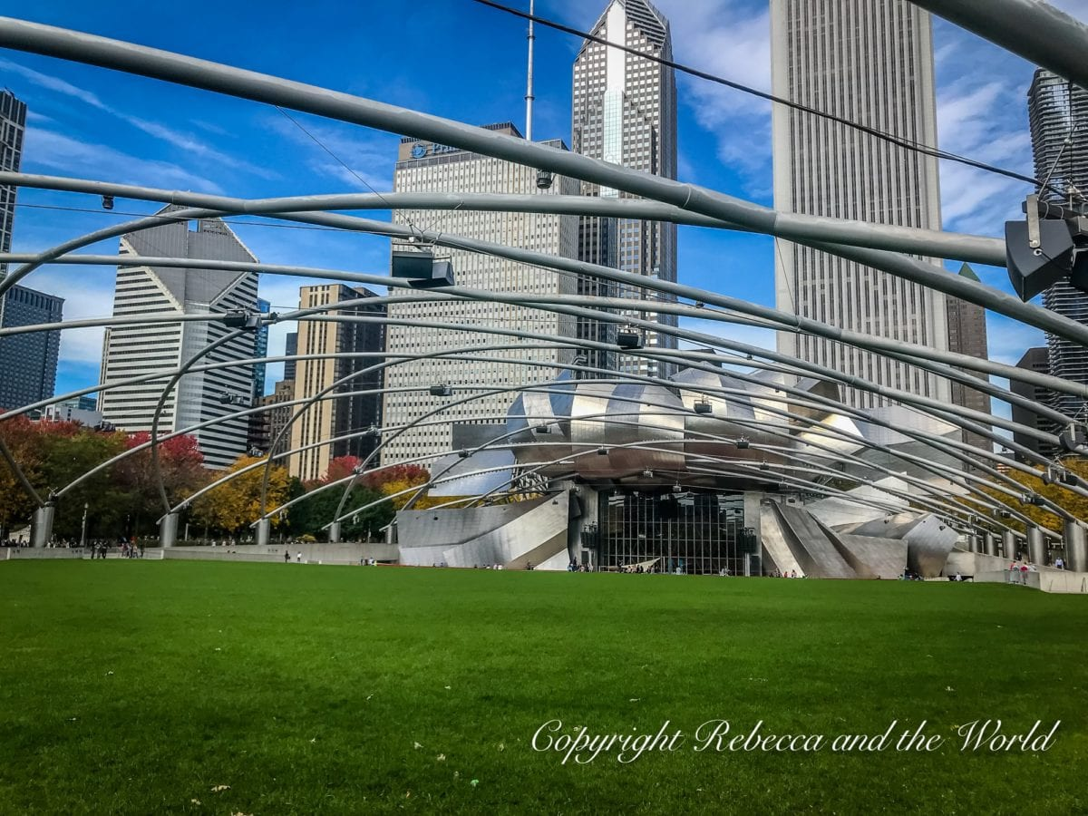 Millennium Park in the heart of Chicago is a great place to wander through if you only have 48 hours in Chicago
