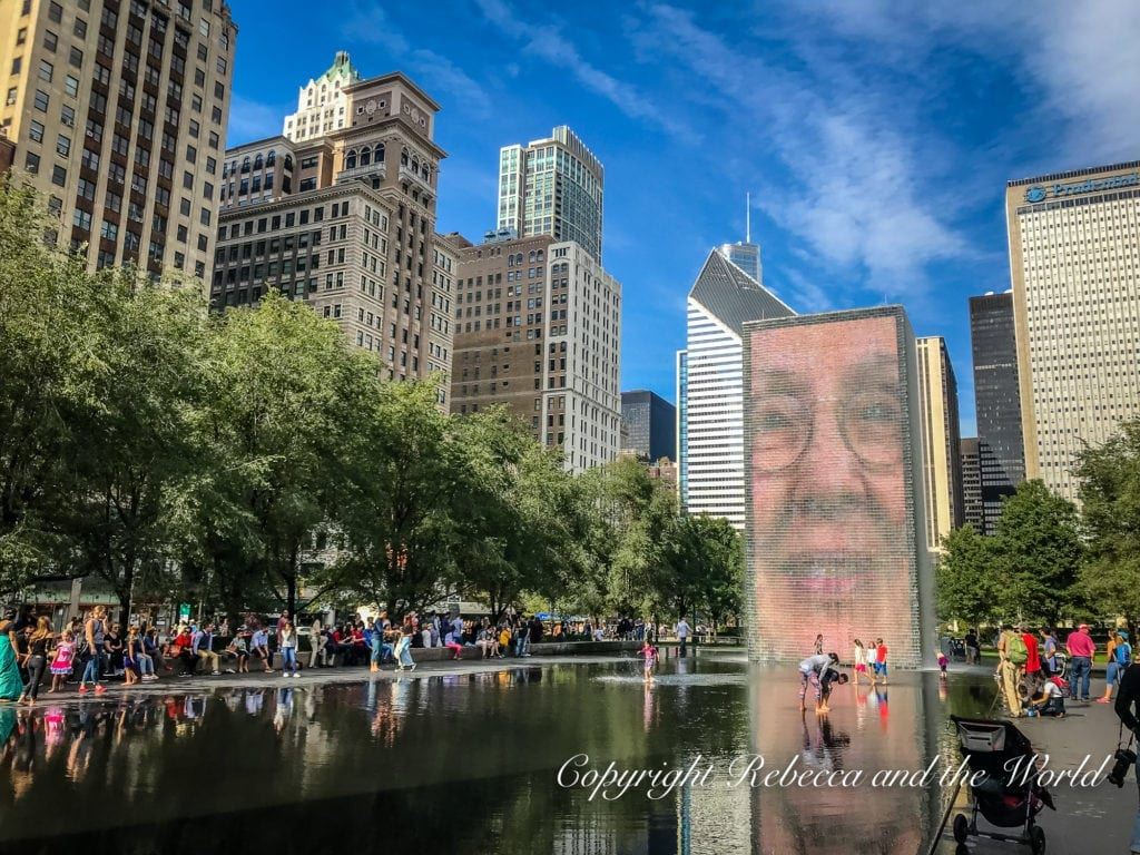 Millennium Park is one of the must-dos with 48 hours in Chicaco