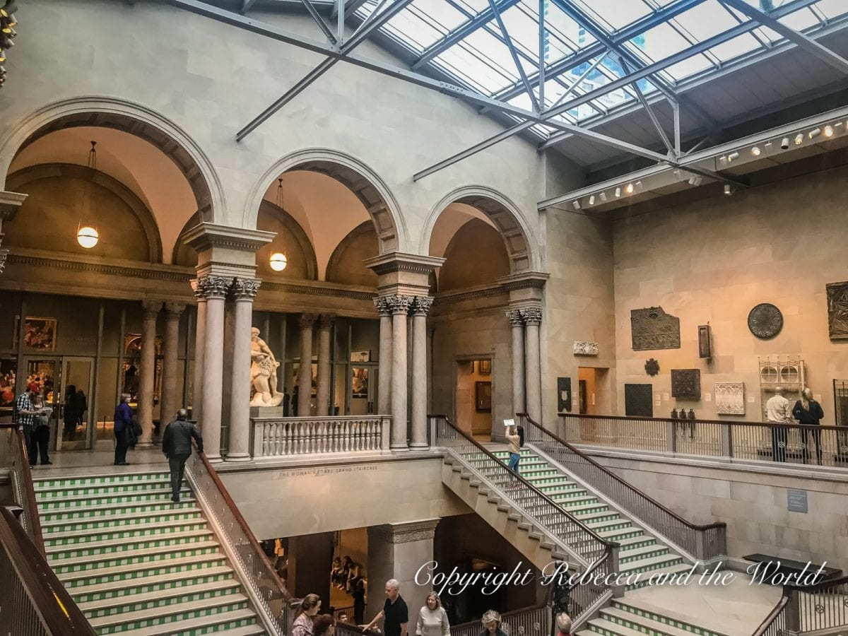 The Art Institute of Chicago is a beautiful museum that's perfect for art lovers or on a rainy day during your 48 hours in Chicago