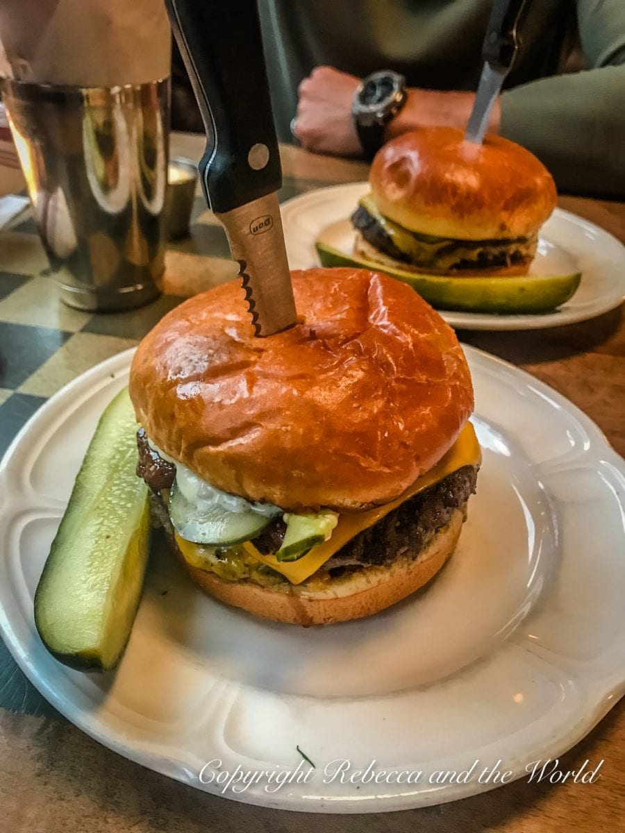 You can't visit Chicago without trying one of the burgers from Au Cheval