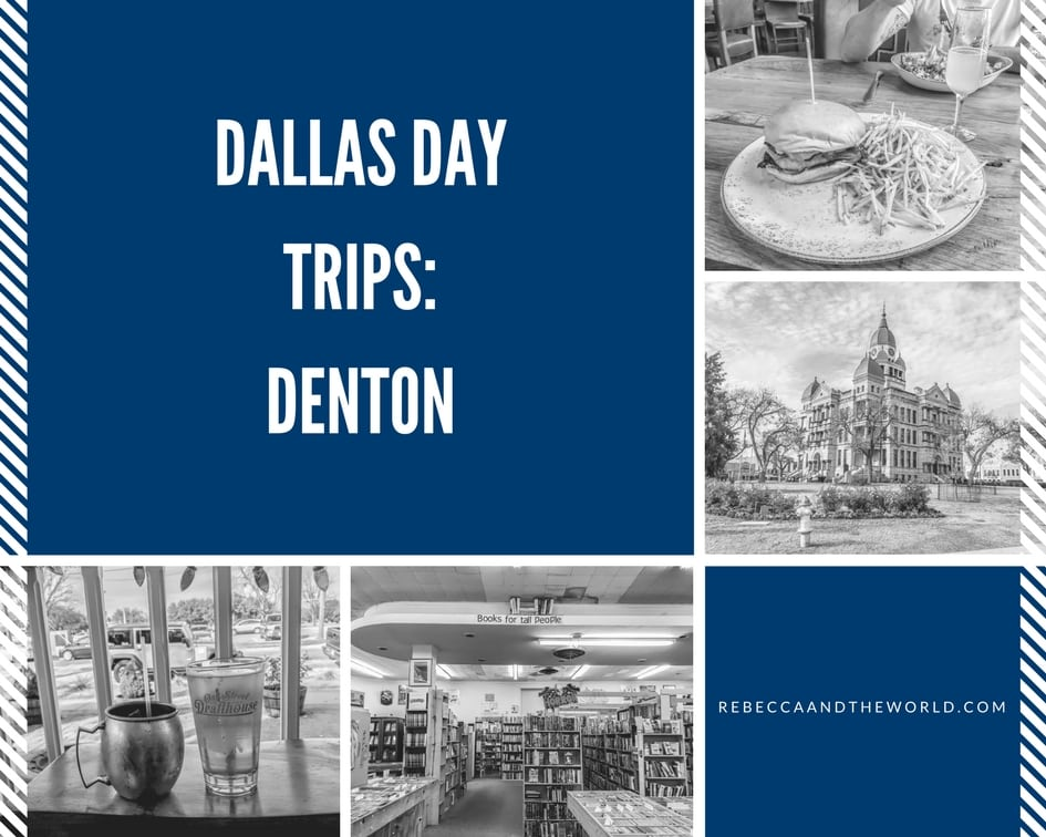 Day trip to Denton from Dallas | Rebecca and the World