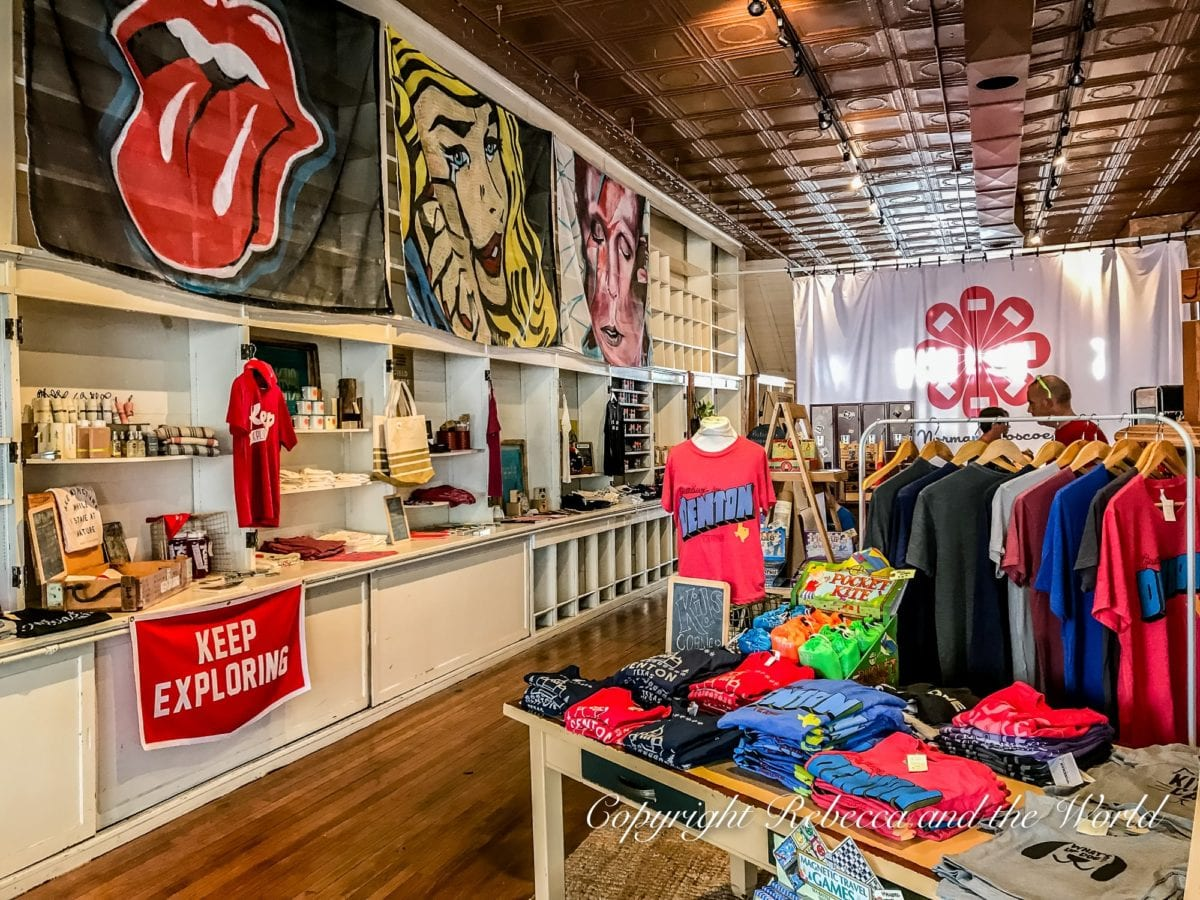 Norman Roscoe is a great shop in Denton, Texas, selling apparel and cute homewares