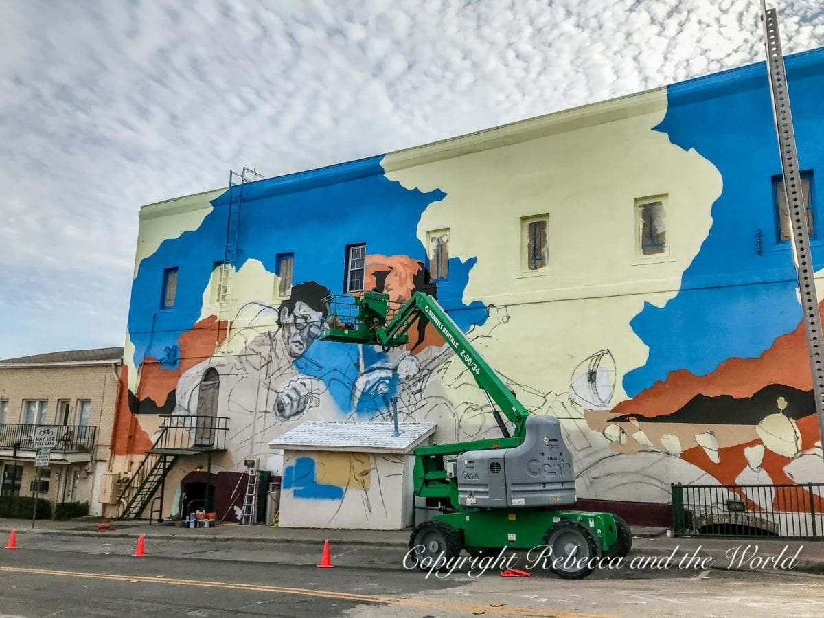 Denton, Texas, is known for cool street art and murals
