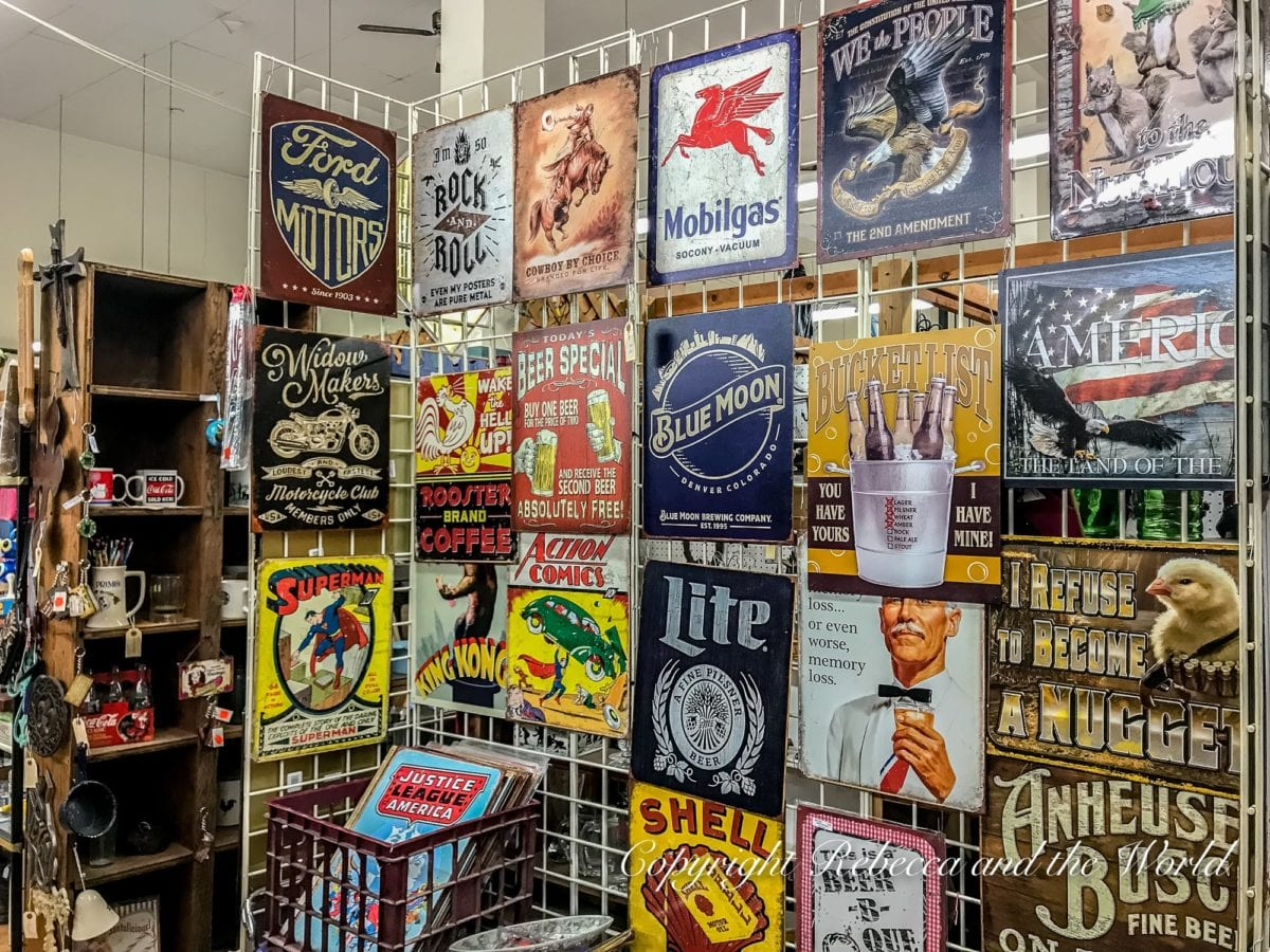 One of the best things to do in Denton, Texas, is explore the quirky second hand stores around Denton Square