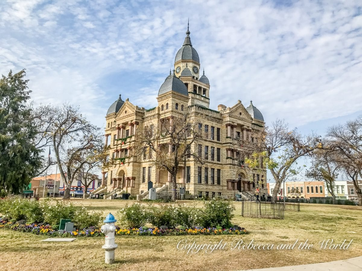 There are so many beautiful buildings to discover on a day trip from Dallas to Denton, Texas