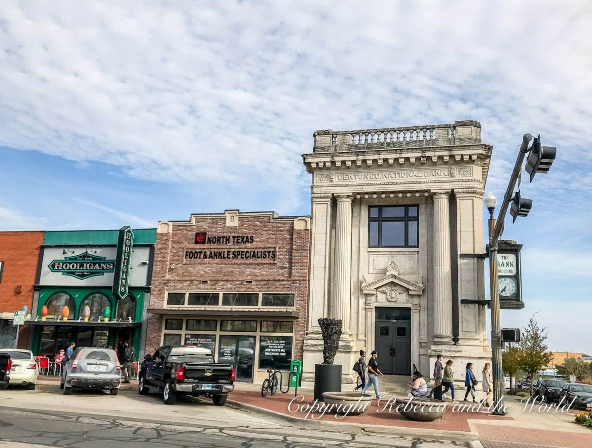 One of the best things to do in Denton, Texas, is simply wander around the shops around Denton Square