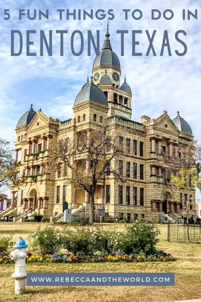 Only 45 minutes from Dallas, there are plenty of things to do in Denton, Texas. It's also home to what might be the best burger in Texas. | #TexasTravel #Denton #DentTX #USATravel #DallasDayTrip