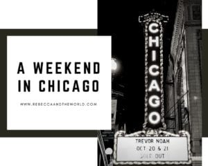 what to do and what to eat in Chicago