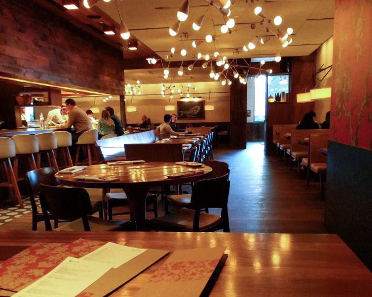 Uchi is a good choice for a date night in Dallas - it's always busy so you know the food is great