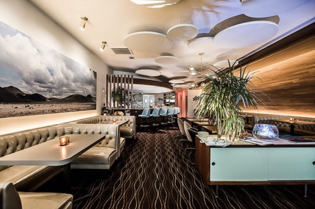 The Lounge Here is a cool spot for a date night in Dallas