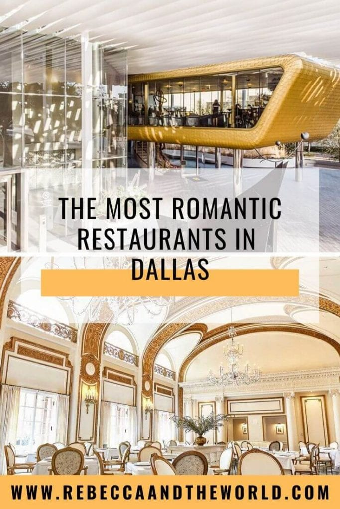 Whether you're planning a Valentine's Day dinner, a milestone anniversary or a first date, there are plenty of romantic restaurants in Dallas. Click through for a local's guide to 17 date night restaurants in Dallas.   #Dallas #DallasTX #ValentinesDay #datenightideas #Texas #Dallasfood