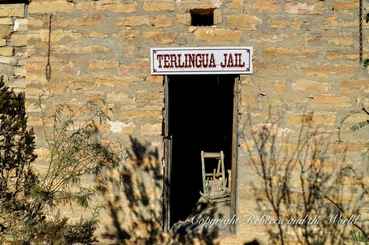 Step inside the old Terlingua jail while exploring the Terlingua ghost town