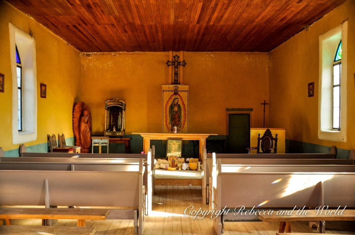 Abandoned churches and other buildings can be found on a tour of the Terlingua ghost town